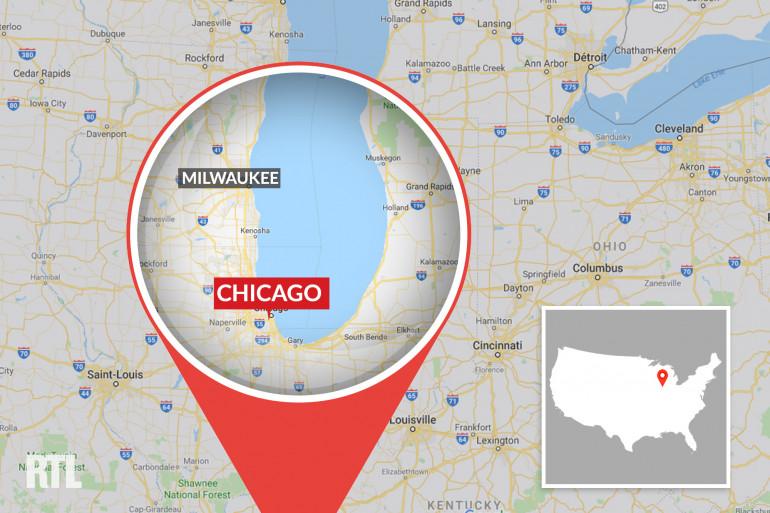Chicago, dans l'Illinois (États-Unis)