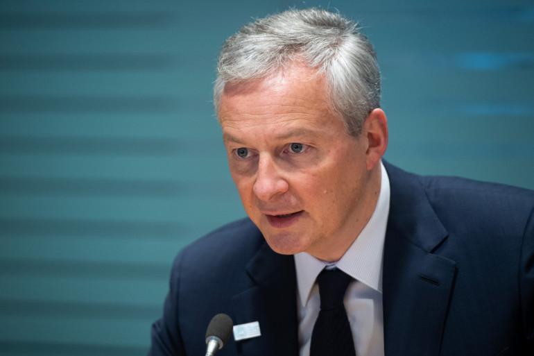Le ministre de l'Économie Bruno Le Maire, en avril 2019