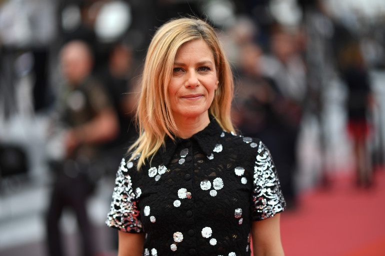 Festival de Cannes 2019 : Marina Foïs tout en sequins à Cannes