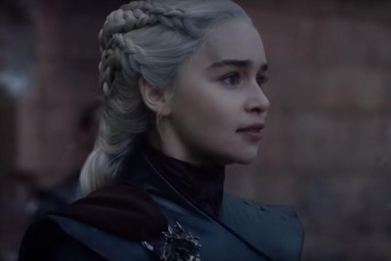 """Daenerys lors de son discours dans le final de """"Game of Thrones"""""""