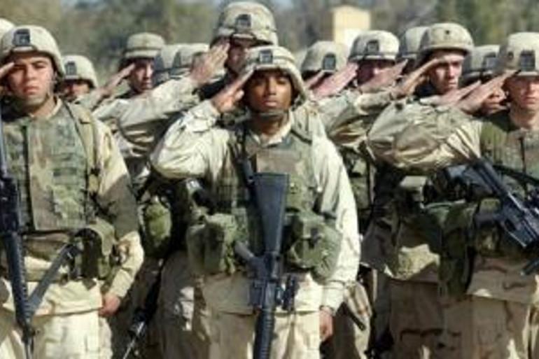 Des soldats de l'armée américaine (illustration)