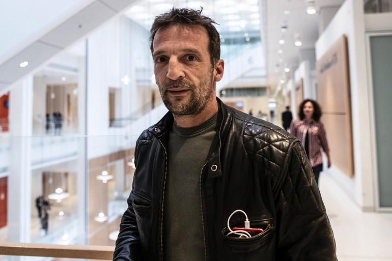 Mathieu Kassovitz au Tribunal de Paris, le 23 mai 2019