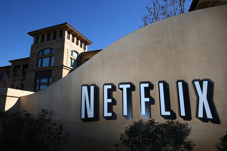 Le siège de Netflix à Los Angeles (illustration)