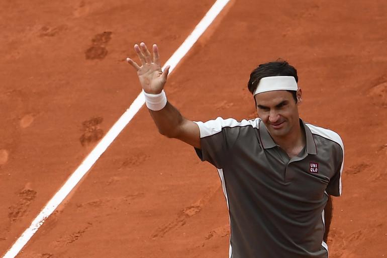 Le Suisse Roger Federer, le 26 mai 2019 à Roland-Garros