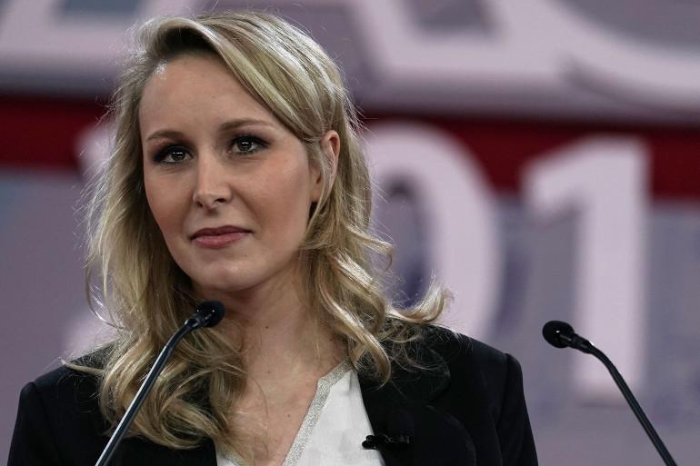 Marion Maréchal, le 22 février 2018