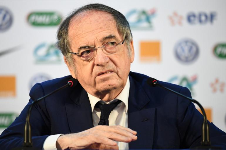 Le président de la fédération française de football Noël Le Graët sera logiquement présent pour soutenir les Bleues