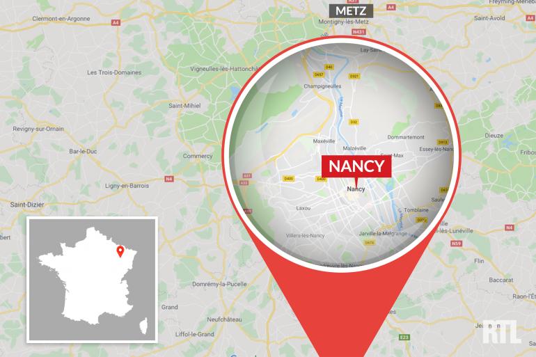 La ville de Nancy, en Lorraine
