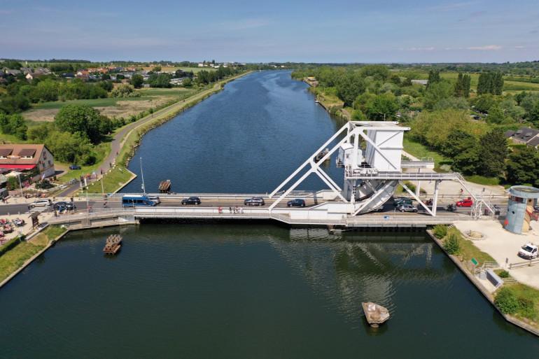 """Le """"Pegasus Bridge"""", à Bénouville en Calvados"""