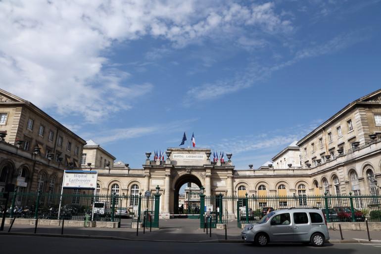 L'hôpital Lariboisière à Paris, le 23 août 2013.