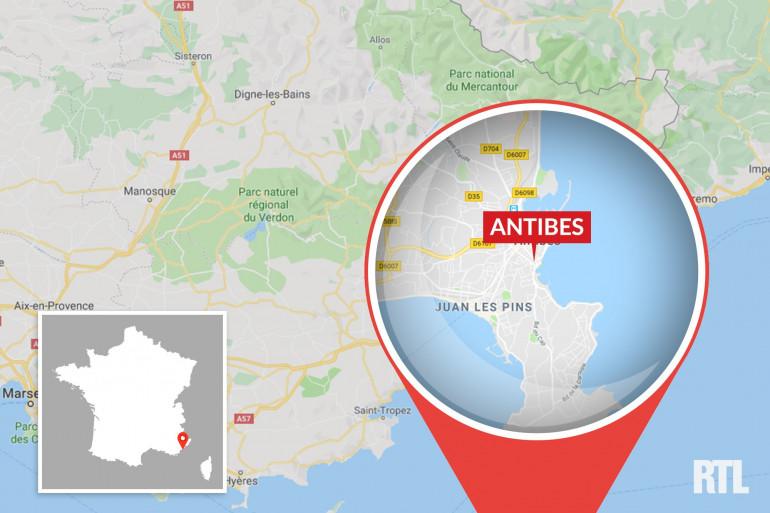 Antibes, sur la Côte-d'Azur.