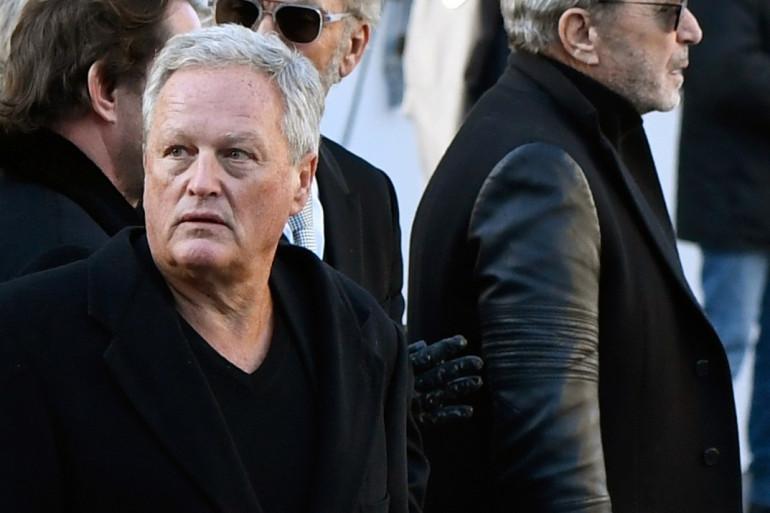 André Boudou, à Paris le 6 décembre 2017