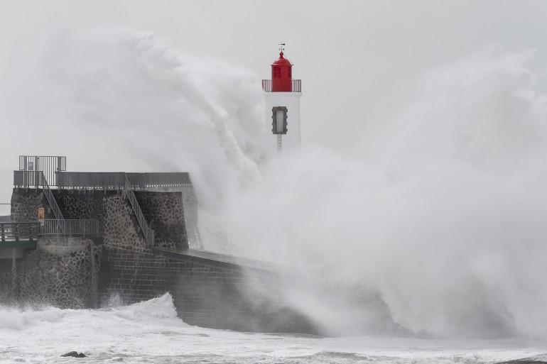 La tempête Miguel s'est abattu sur l'ouest de la France, vendredi 7 mai 2018