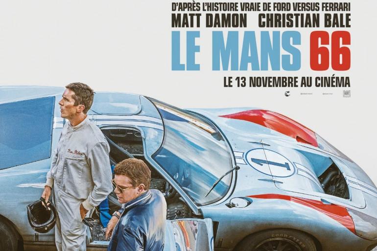 """L'affiche du film """"Le Mans 66"""""""