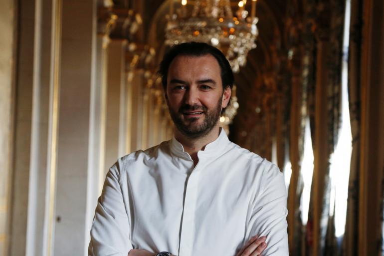 Cyril Lignac à l'Hôtel de ville le 16 janvier 2016