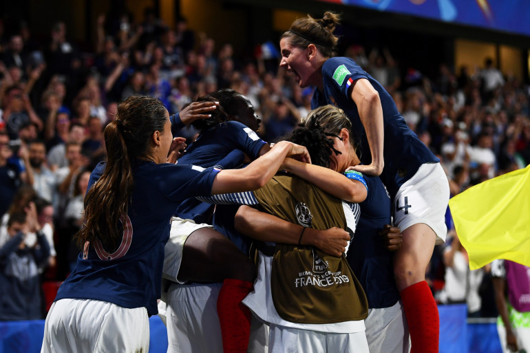 Les Bleues à Rennes le 17 juin 2019