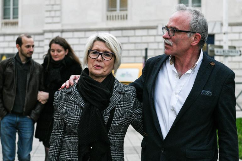 Les parents d'Alexia Daval Isabelle et Jean-Pierre Fouillot