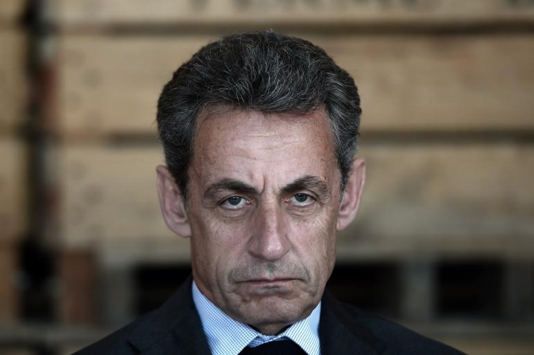 Nicolas Sarkozy en juillet 2016