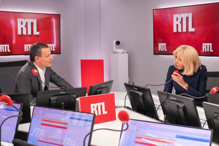 Brigitte Macron est l'invitée exceptionnelle de RTL Soir jeudi 20 juin