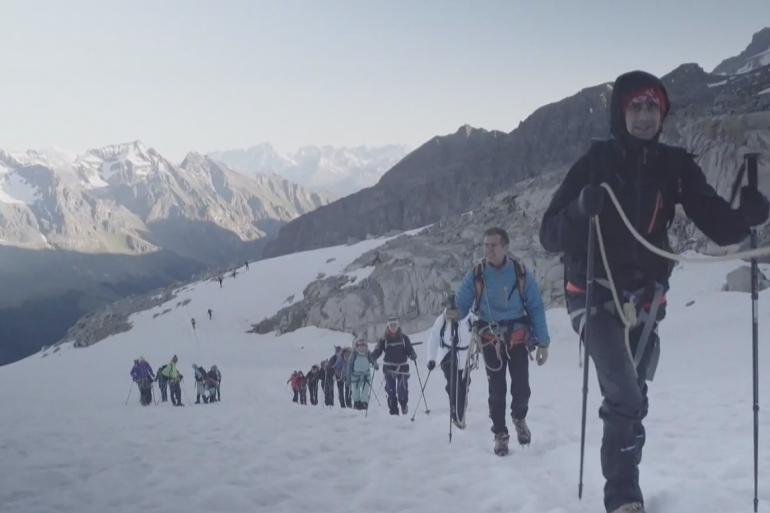 Alpes : des baroudeurs de l'espoir pour aider les civils des pays en guerre