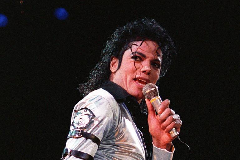 Michael Jackson en concert en 1988