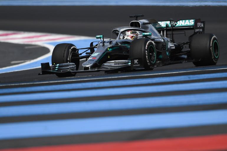 Lewis Hamilton au Grand Prix de France le 23 juin 2019