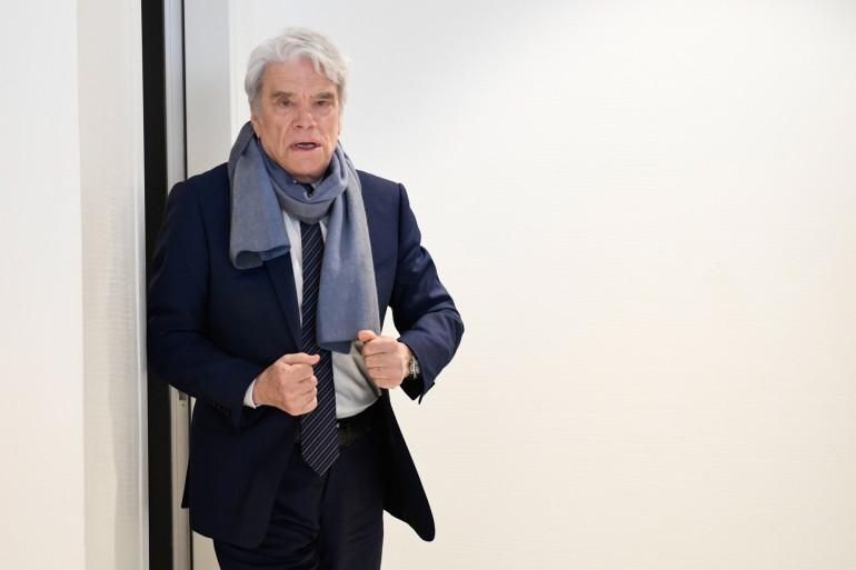 Bernard Tapie, le 4 avril 2019 à Paris