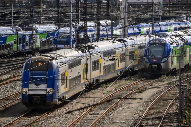 Plusieurs trains express régionaux (TER). (Photo d'illustration)