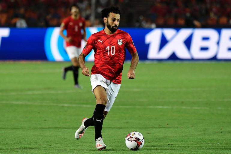 Mohamed Salah avec l'Égypte au Caire le 21 juin 2019