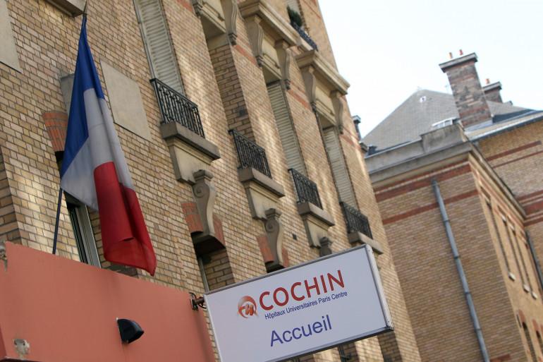 L'hôpital Cochin à Paris