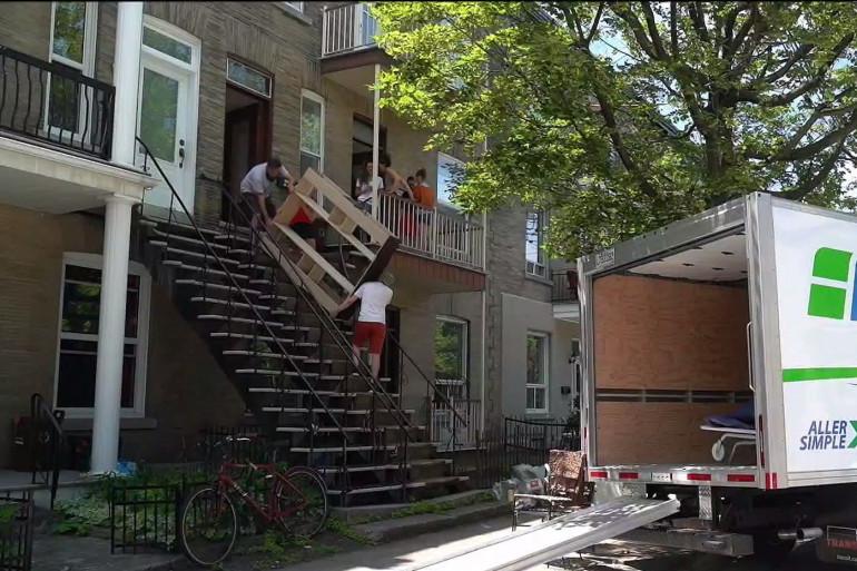 Montréal : ils déménagent tous le même jour!