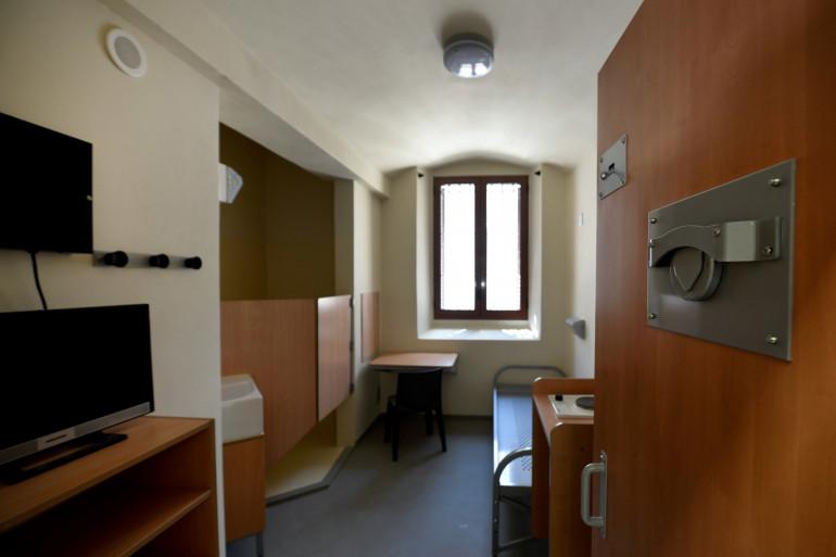 Une cellule de prison (illustration)