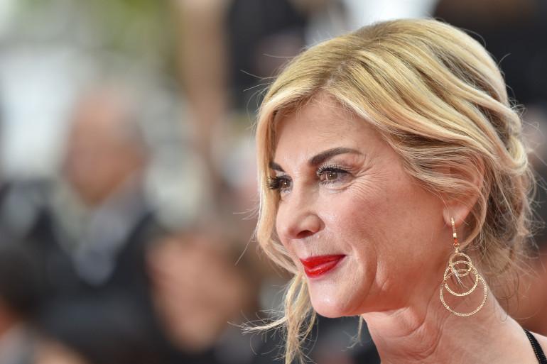 Michèle Laroque à la cérémonie de cloture du festival de Cannes (22 mai 2017)