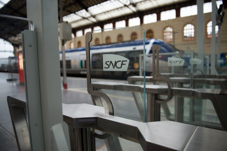 Un TGV dans la gare Saint-Charles de Marseille (illustration)