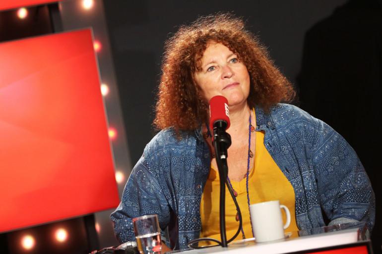 """Valérie Mairesse dans """"Les Grosses Têtes"""""""