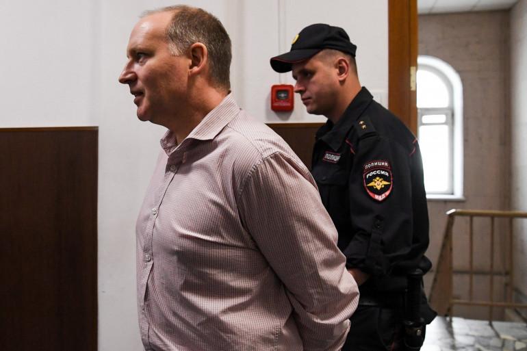 Le banquier Philippe Delpal incarcéré en Russier