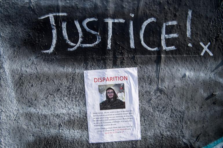 Un avis de recherche pour tenter de retrouver Steve, disparu depuis la Fête de la Musique à Nantes le 21 juin 2019