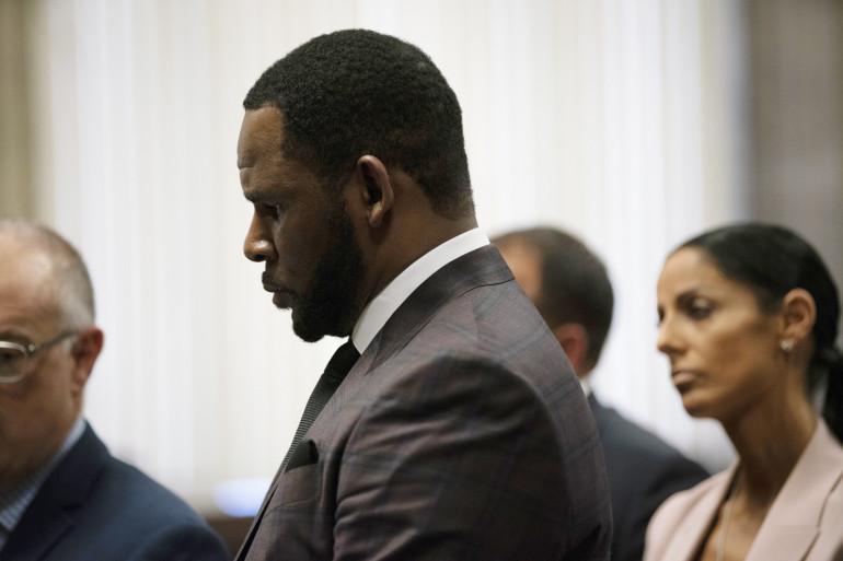 R.Kelly au tribunal de Chicago en juin 2019