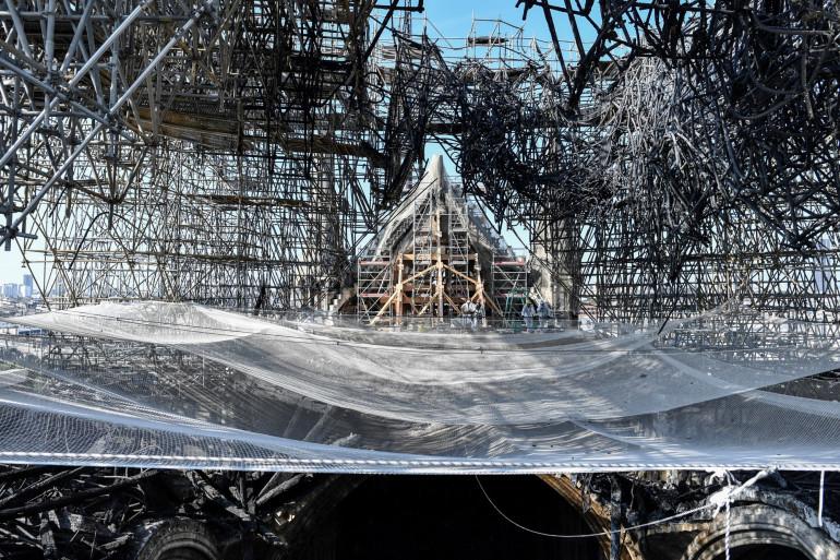 Trois mois après l'incendie de Notre-Dame, la cathédrale résiste