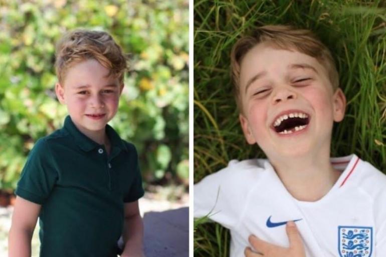 Le Prince George fête ses 6 ans, lundi 22 juillet 2019.
