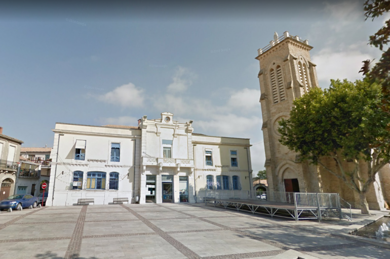 La mairie de Pérols, dans l'Hérault