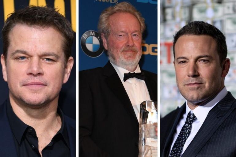Matt Damon, Ridley Scott et Ben Affleck