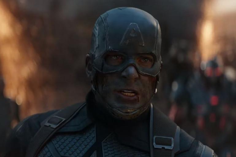 """Captain America (Chris Evans) dans """"Avengers 4"""""""