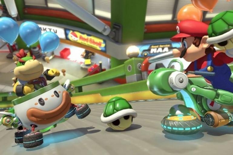 """""""Mario kart 8 Deluxe"""" (illustration)"""