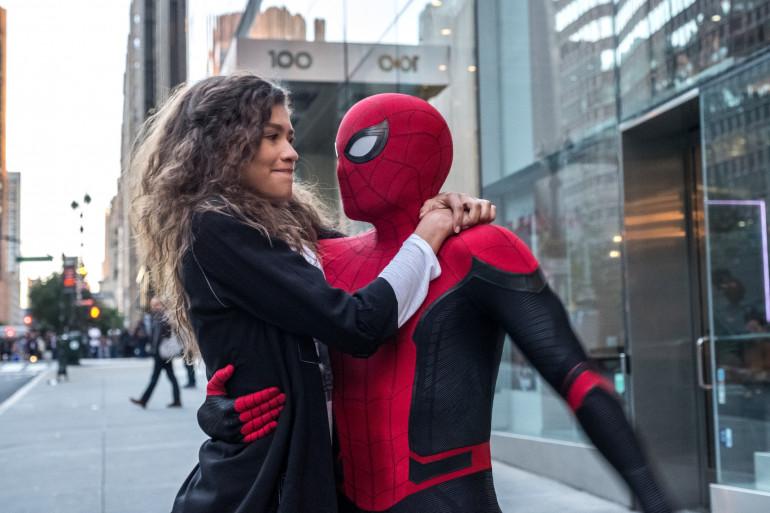 """Zendaya et Tom Holland dans """"Spider-Man: Far From Home"""""""