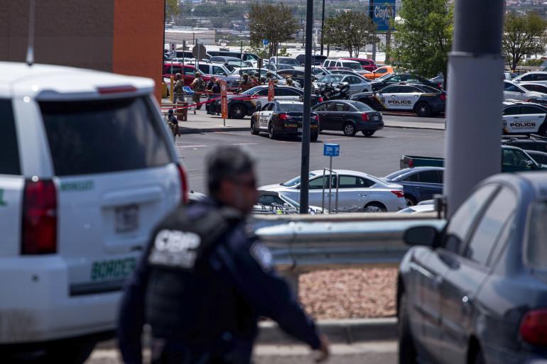 Une fusillade dans une galerie marchande a fait plusieurs morts, le 3 août 2019, à El Paso (Texas, États-Unis)
