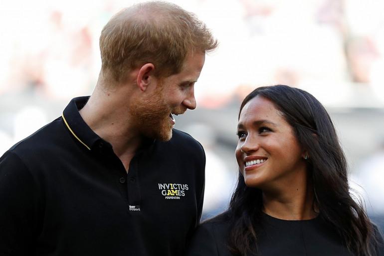 Le prince Harry et Meghan Markle à Londres le 29 juin 2019