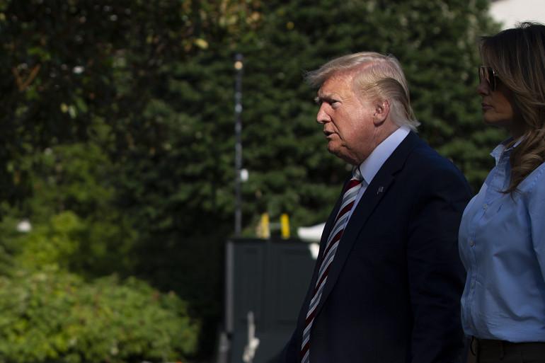 Donald Trump, le 4 août 2019, à Washington DC