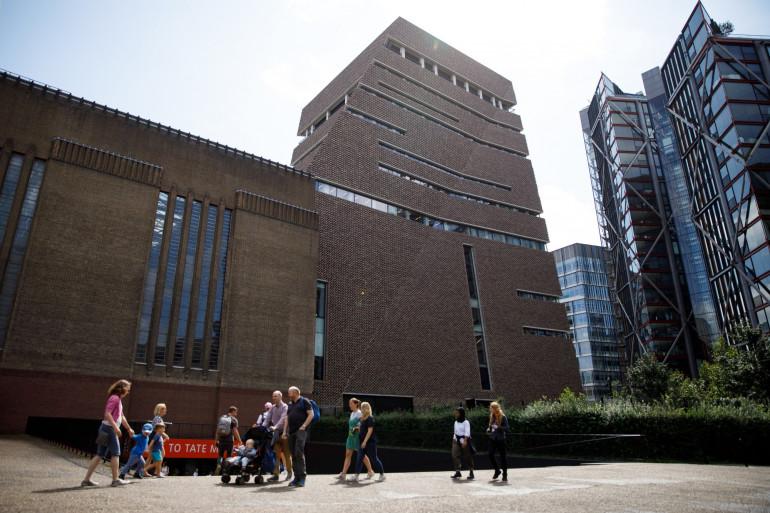Le Tate Modern à Londres, le 5 août 2019