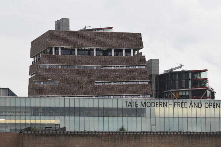 La Tate Modern à Londres, le 4 août 2019