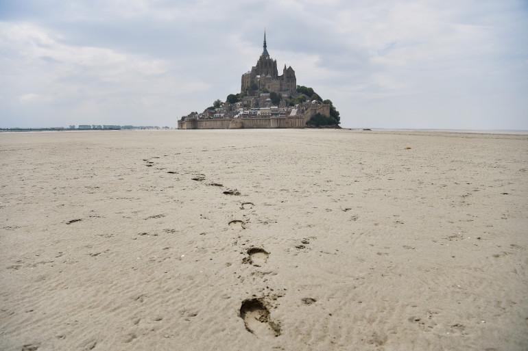 Le Mont Saint-Michel, en juin 2018